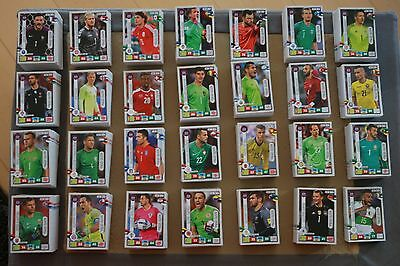 Panini Road to Russia 2018 Adrenalyn 5/10/15/ 20/25/30 Team Mate Choose/Pick