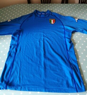 Italy 2002-03 Home Shirt Size XXL