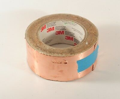 3M Adhesive Copper Tape 50mm wide slightly used 780g Slug Protection