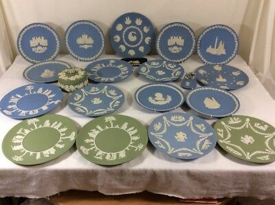 Wedgwood Plates And A Lighter