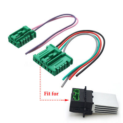 Resistor Wiring Harness Loom For Citroen Peugeot Renault Nissan Heater Blower