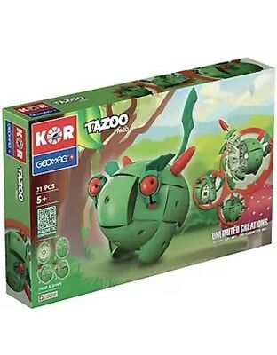 GeoMag Kor Tazoo Paco 71 Pieces Magnetic Building Toy