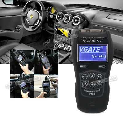 Universal All Car Fault Reader Scanner Diagnostic Code Tool OBD 2 Can Reset Tool