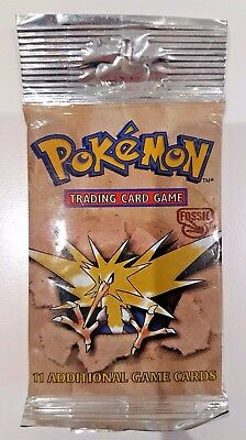 Pokemon FOSSIL sealed booster pack