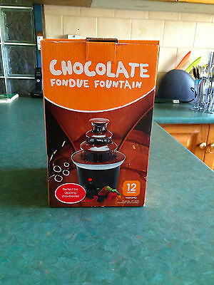 Chocolate Fondue Fountain