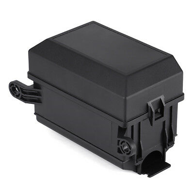 Universal Off-road Car Truck Insurance 6-Way Fuse Relay Holder Box Socket Black