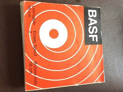BASF 18cm 7in Empty Spool For Reel to Reel Player Brand New