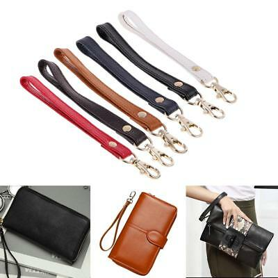 Genuine Leather Wristlet Wrist Bag Strap Replacement For Clutch Purse Handbag