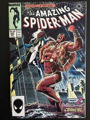 Marvel Amazing Spider-Man 293 & 294 Kraven's Last Hunt/ Death of Kraven VF- & VF