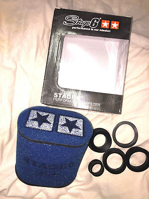 Stage 6 Double Layer big AIRFILTER Blue Luftfilter NEU!! TOP!!