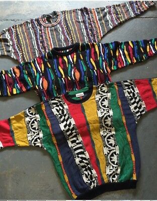 Wholesale Vintage 80S Crazy Knit Cosby Sweaters Jumpers X 25