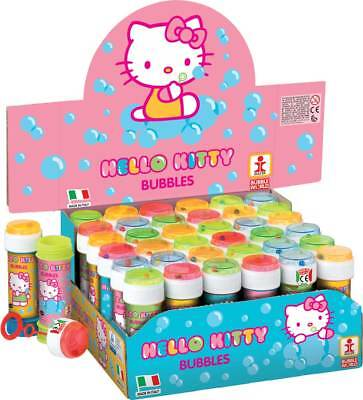 Merchandising Display 36 Pz - Dulcop Bolle Di Sapone - Hello Kitty - Flacone 60