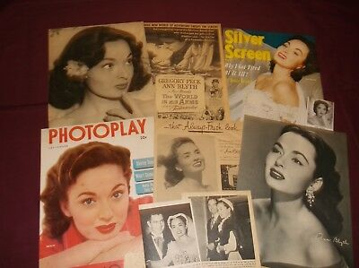 Ann Blyth - Clippings