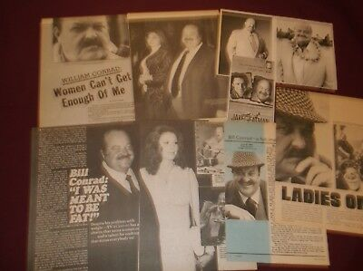 William Conrad - Clippings