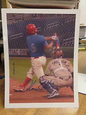 Lot Of 27 Clearwater Threshers Autographed Prints 2008