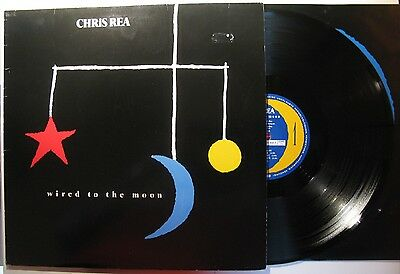 """Chris Rea """"wired To The Moon"""" Vinyl Lp (Magnet Records 821 832-1Y; D-1984)   Vg+"""