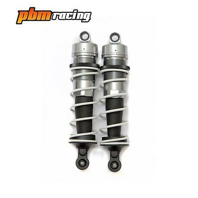 1/8th RC Rallycross Buggy Aluminium Big Bore Shock Absorbers Front Pair
