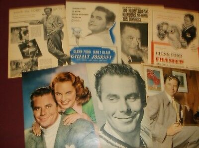 Glenn Ford - Clippings