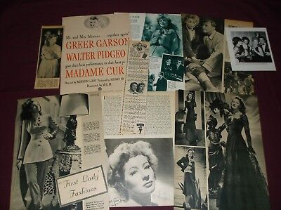 Greer Garson - Clippings