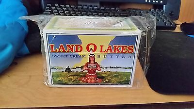 Recipe Box -Land O Lakes -NEW - Christmas Gifts