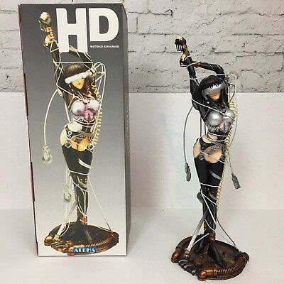 Ghost In The Shell - Motoko Kusanagi Statue - Sea of Wires Official ALPHA