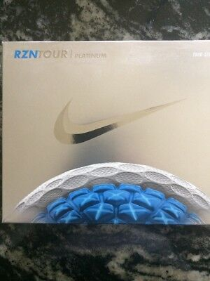 Nike RZN Tour Platinum Golf Balls.