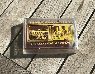 5 Grams Box- The Gathering of Saffron -100% Pure from Spain (160 servings)