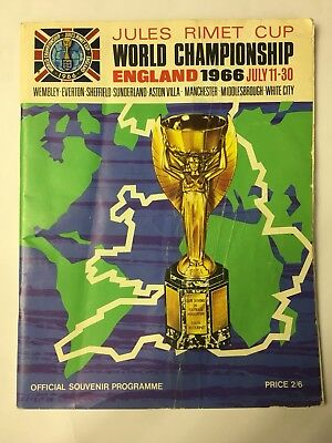 ** WORLD CUP 1966 Official Souvenir Tournament Brochure / Programme **