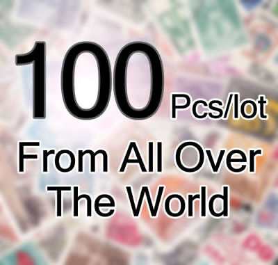 100 Different Stamps of the world