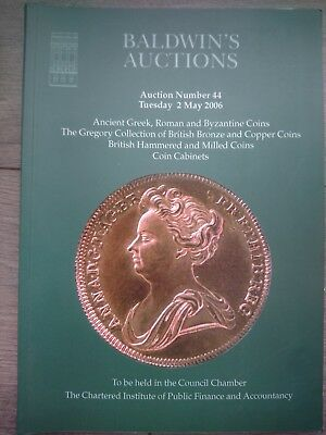 Baldwins Auction 44 Catalogue Gregory Collection British Copper & Bronze May 06