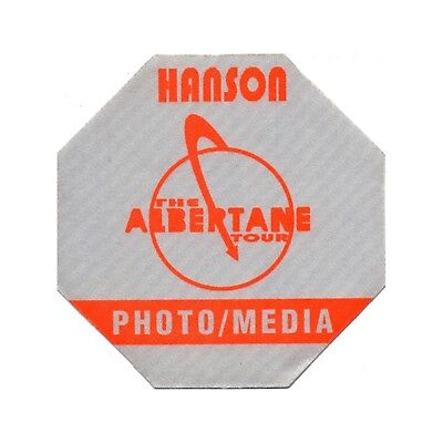 Hanson authentic Photo 1998 tour Backstage Pass