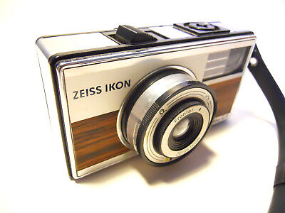 Zeiss Ikon Ikomatic Cf Vintage Camera 1964 Germany Photo Wooden Modern Design