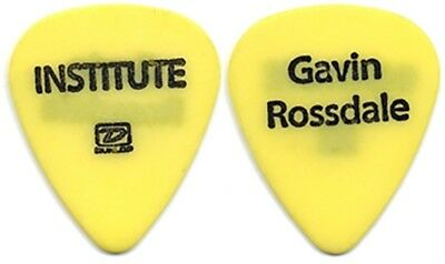 Institute Gavin Rossdale authentic 2005 tour band issued stage Guitar Pick BUSH