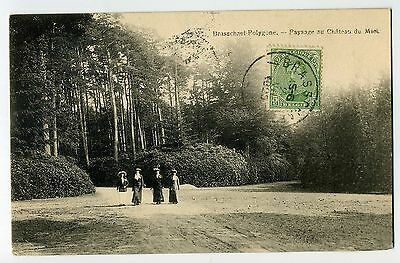 Cpa Brasschaet Polygone - Aviation Militaire 3°Esc- Chateau Du Mick 1920 Animee