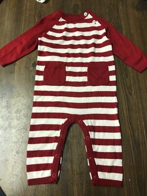 Baby Cat & Jack Outfit Size 6-9 Months Great For Christmas!