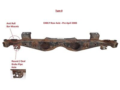 MINI BMW Cooper One / S R50 R52 R53 Rear Subframe / Axle Carrier - Various Style
