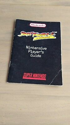 Snes Streetfighter II Turbo Nintensive Players Guide