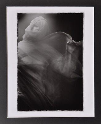 Francis A. Willey Signed Silver Gelatin Photo 20x25cm The Fleeting Ghost 2007