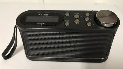 ROBERTS Play 10 DAB/DAB+/FM Portable Digital Radio - Black - Used