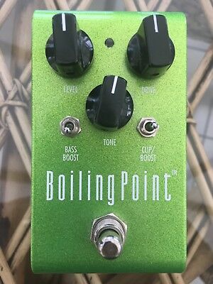 Rockbox Electronics Boiling Point Overdrive / Boost Guitar Effects Pedal