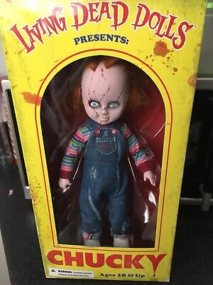 Brand New Living Dead Dolls Chucky from Bride of Chucky RARE Never Been Opened!