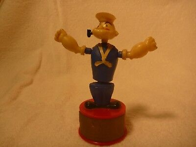 Vintage Koehler Bros toy Popeye Push up Puppet