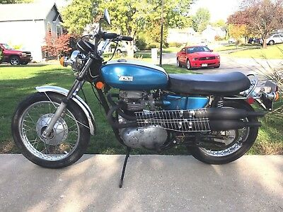 1971 Bsa Firebird Scrambler  1971 Bsa Firebird Scrambler, A65, 1700 Miles, Very Original