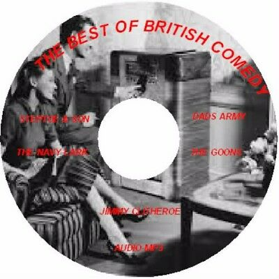 The Best Of British Comedy Mp3 Cd