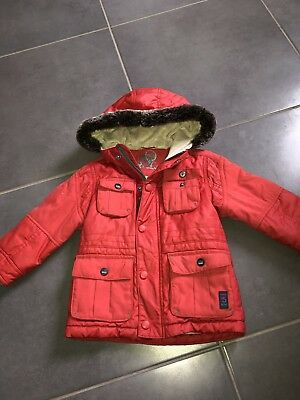 Ted Baker Boys Coat / Jacket 18-24 Red Winter