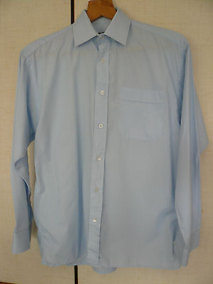 """Double Two Shirt - 15"""" Neck - Blue - Lightly worn."""