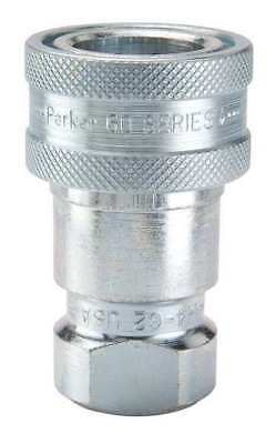 PARKER H6-62 Coupler Body, 3/4-14, 3/4 In. Body, Steel