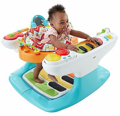 FISHER PRICE STEP 'N PLAY PIANO TummyTime Activity Center Hands & Feet Keyboards