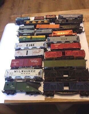 Mostly Triang, Industrial Coaches, Wagons.  Model train. vintage retro