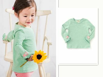 NEW Matilda Jane Green grass tee size 3-24M The adventure begins